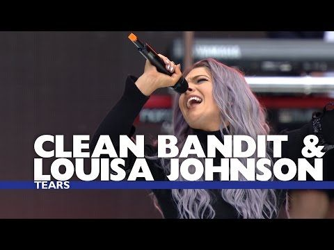 Clean Bandit and Louisa Johnson - 'Tears' (Live At The Summertime Ball 2016)