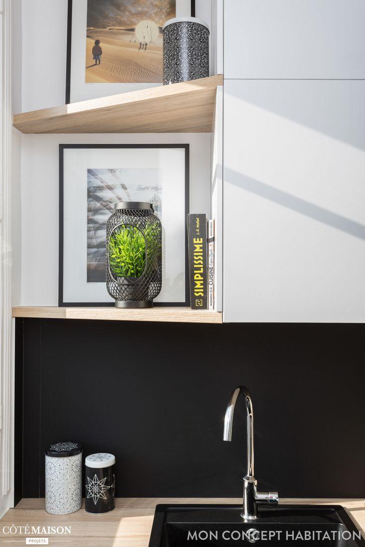 566 melhores imagens de cuisine d co no pinterest ideias para a cozinha despensa e sala de jantar. Black Bedroom Furniture Sets. Home Design Ideas