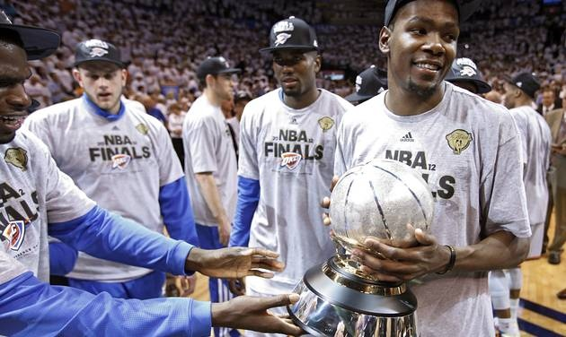 OKC Thunder Win Western Conference!!! On to the Finals! GO THUNDER!