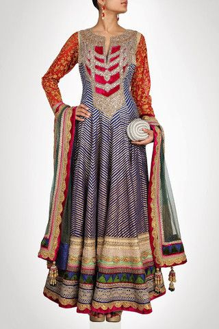 Royal Collection floor length anarkali suit in blue color – Panache Haute Couture http://panachehautecouture.co.in/products/royal-collection-floor-length-anarkali-suit-in-blue-color