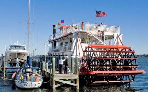 The Indian River Queen Paddle Boat