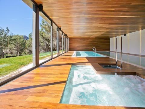 Eclética villa con excepcional SPA en Son Vida Hills