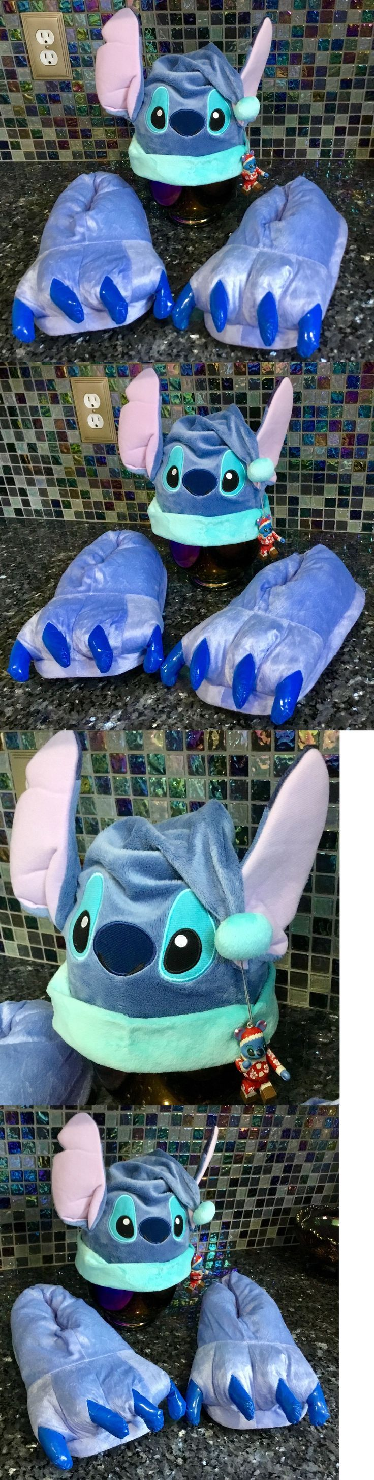 Other Costume Accessories 82161: Disney Lilo And Stitch Christmas Holiday Santa Costume Hat Bearbrick And Slippers -> BUY IT NOW ONLY: $99.99 on eBay!