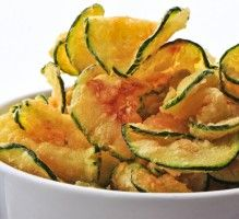 Recette - Chips de courgettes - Notée 4/5 par les internautes