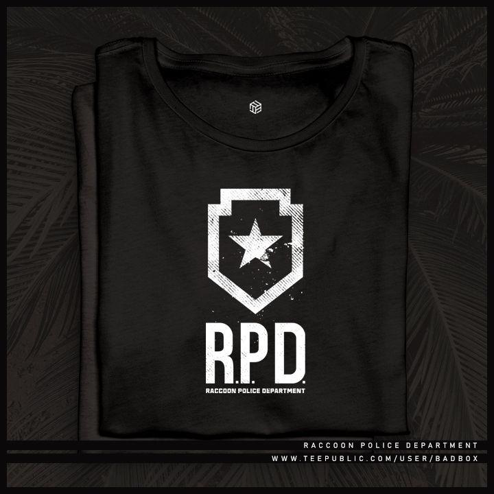 Raccoon Police Department Tshirt Teepublic