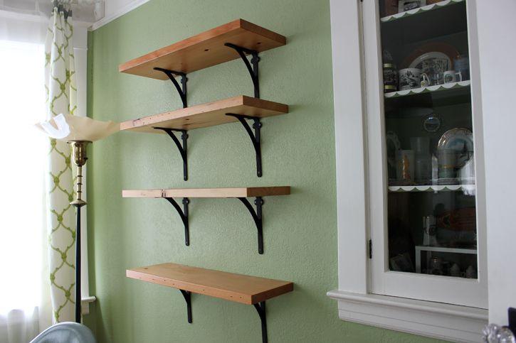 17 Best Kitchen Shelf Bracket Images On Pinterest