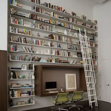 contemporary home office by David Howell Design