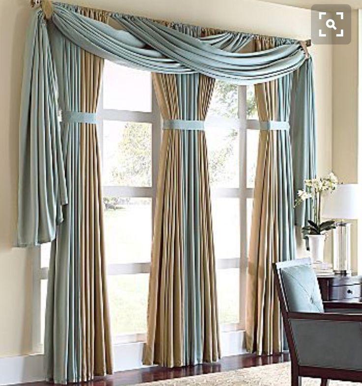 192 besten gardinen courtain bilder auf pinterest. Black Bedroom Furniture Sets. Home Design Ideas