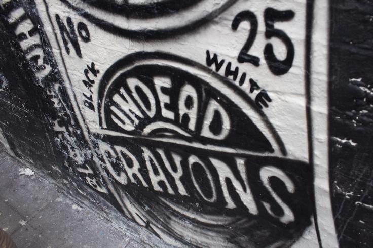 Undead crayons