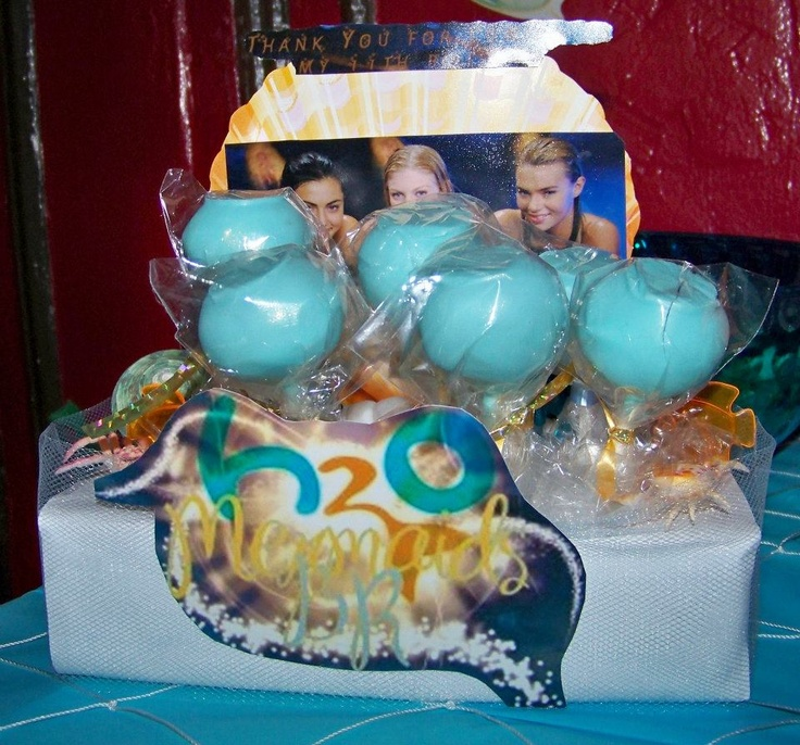 I Made This Cake Pop Stand For My Daughters Just Add Water Birthday Party