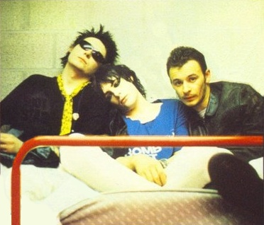 Not the best quality photograph of the Manics, but I like it anyway. Except poor Sean is absent.