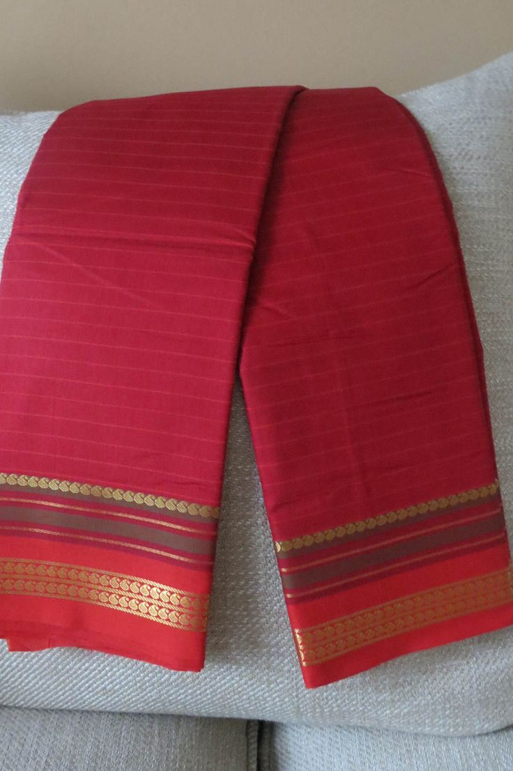 South Indian Apoorva silk Saree by ZainabBoutique on Etsy