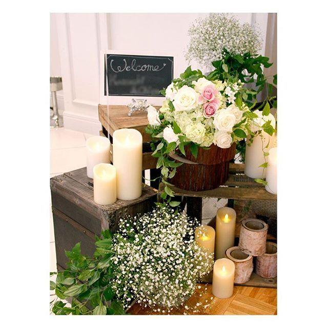 . . 小物をたくさん使った とっても可愛いナチュラルウェディング! かすみ草のふわふわ感が ドレスとよく似合います♪ . #flowerwalkpopo #富山県 #花嫁準備 #プレ花嫁 #結婚式準備 #結婚式 #ウェディング #テーマウェディング #オリジナルウェディング #ナチュラルウェディング #キャナルサイドララシャンス #ララシャンス#花屋 #花 #メイン装花 #高砂 #高砂装花 #ソファ #ナチュラル #可愛い #ブライダル #wedding #weddingflowers #bride #bridal #bridalflowers #instflower #flowerstagram #flowerpic