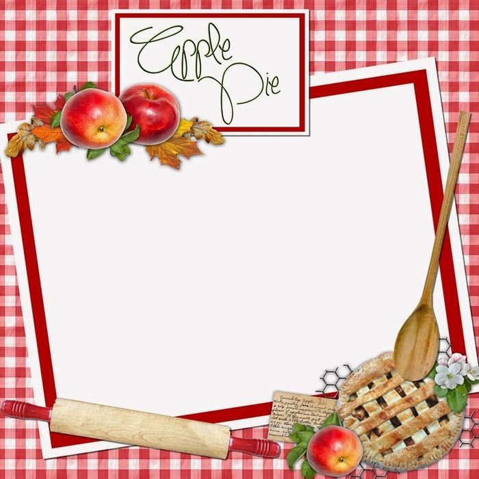 318 Best Images About Recipe Scrapbooking-Printables And Blank Recipe Cards On Pinterest
