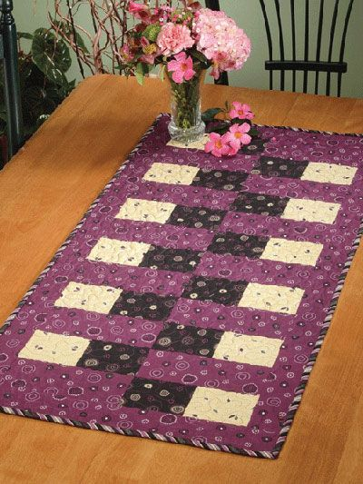 Quilting   Kitchen Patterns   Runner U0026 Topper Patterns   Bricklayeru0027s  Daughter