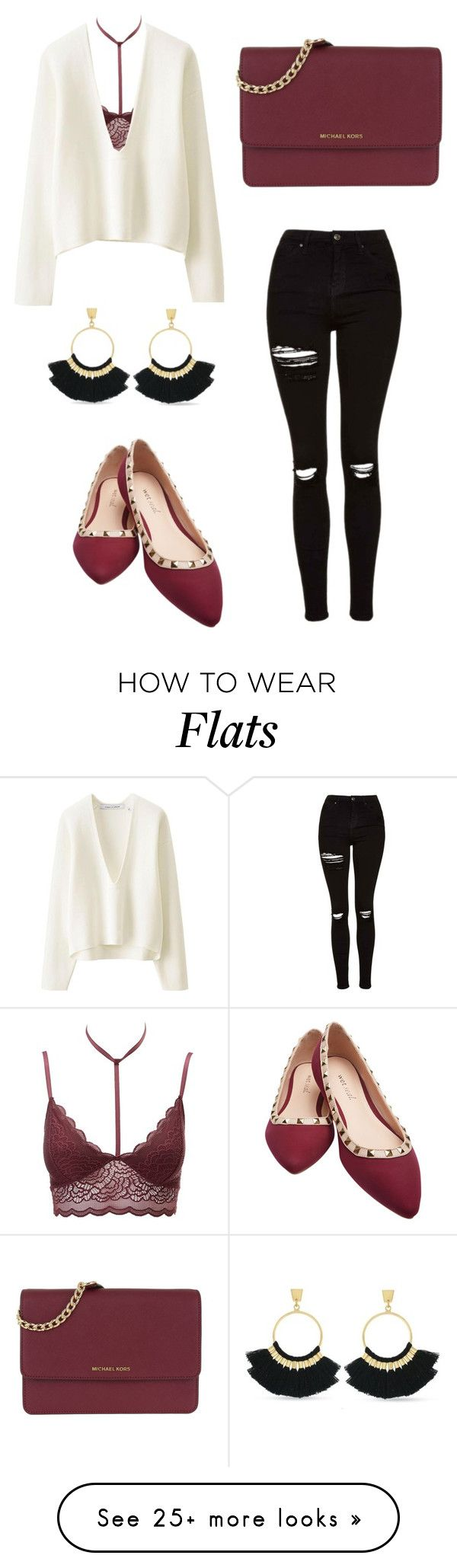 """""""26/01/2018"""" by ellieacd on Polyvore featuring Topshop, Charlotte Russe, Lemaire, Wet Seal, MICHAEL Michael Kors and Vince Camuto"""