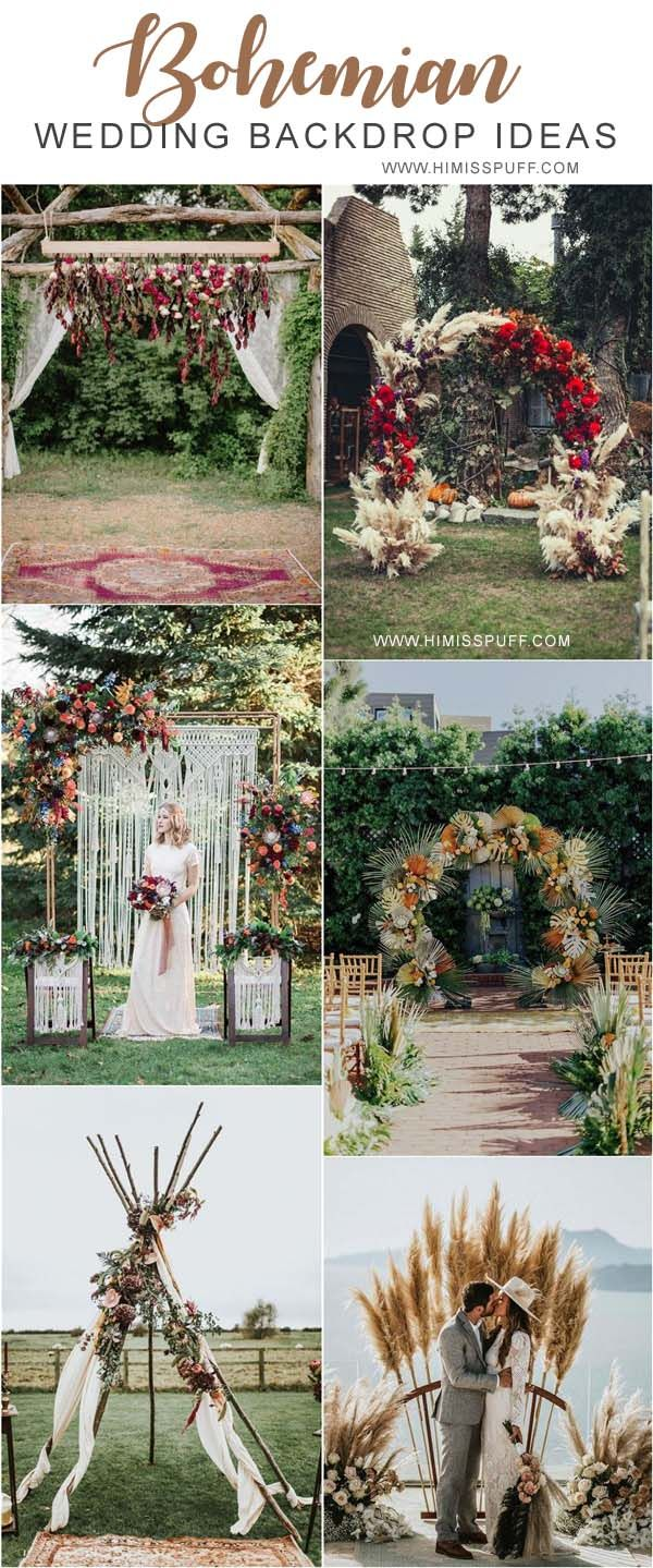 Boho Grey Floral Arches with White Studs