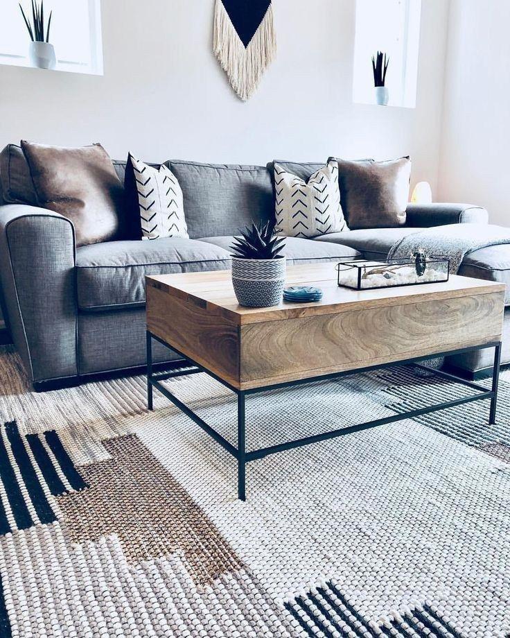 Vous aimerez 67 idées inspirantes pour un salon moderne dans un petit appartement 48   – living-room-decoration