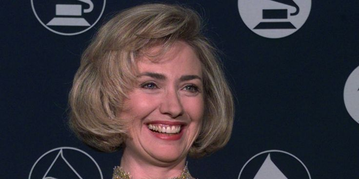 Hillary won a Grammy in 1997. The 56th annual Grammy Awards take place on Sunday, but let's remember the 39th annual Grammy Awards, since that's when Hillary Rodham Clinton was awarde...