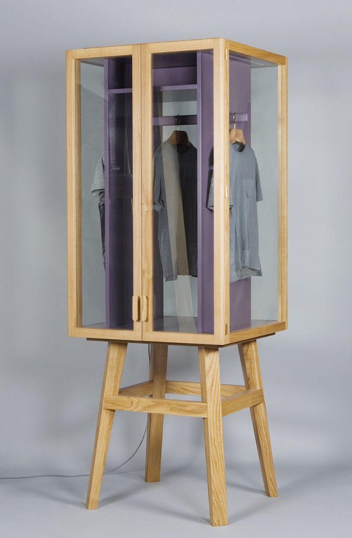 Ropero modular wardrobe by Hierve » Retail Design Blog