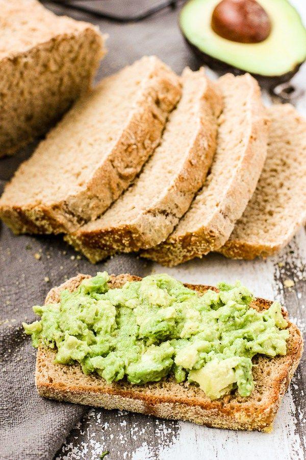No Knead English Muffin Bread