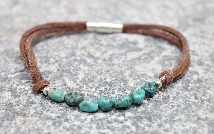 Soutwestern boho Collection Boho Turquoise armbånd -Bracelet