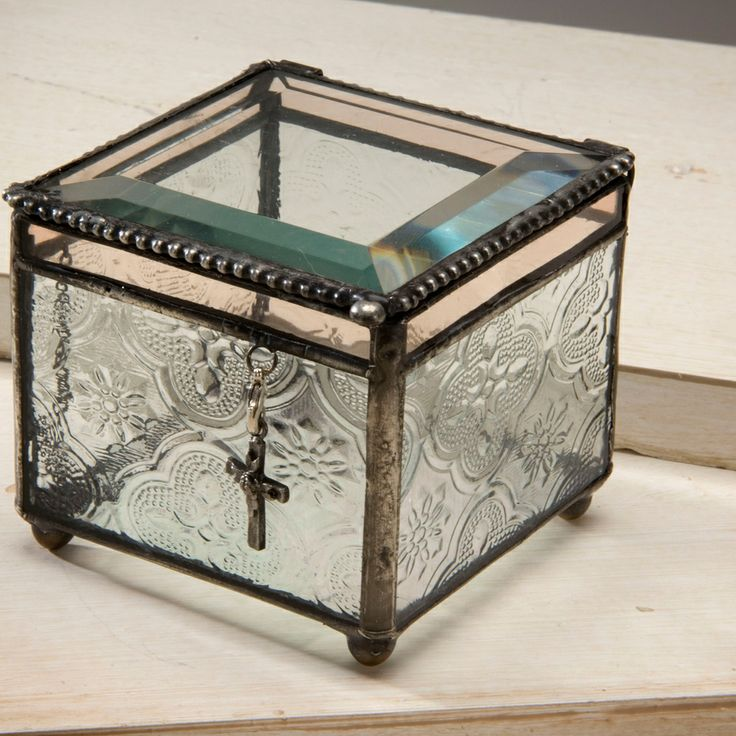 32 best uncharted visions religious themed gifts images on pinterest j devlin box 631 vintage glass charm box religious giftsglass boxesdecorative glasseaster negle Images