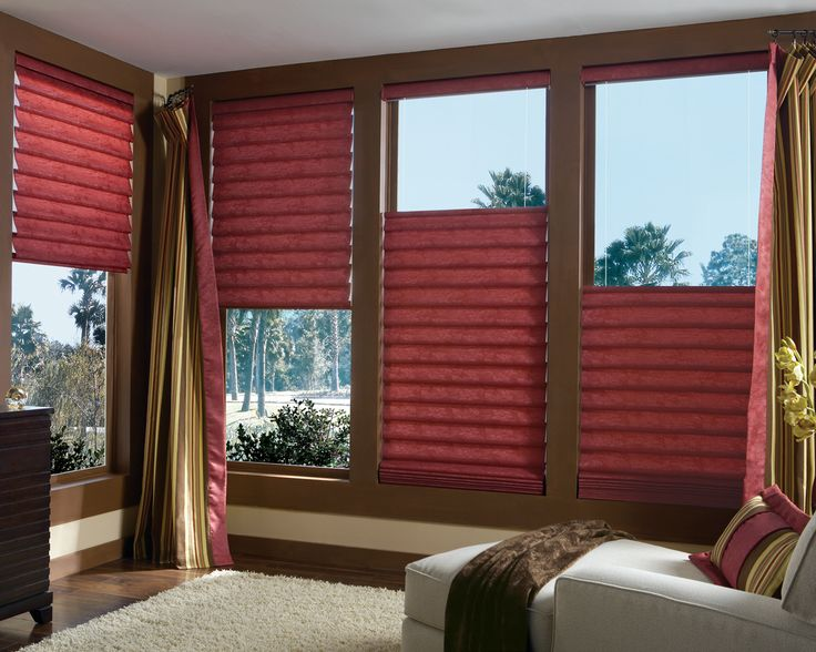Decorating Red Blinds For Windows Photo Gallery of Futuristic