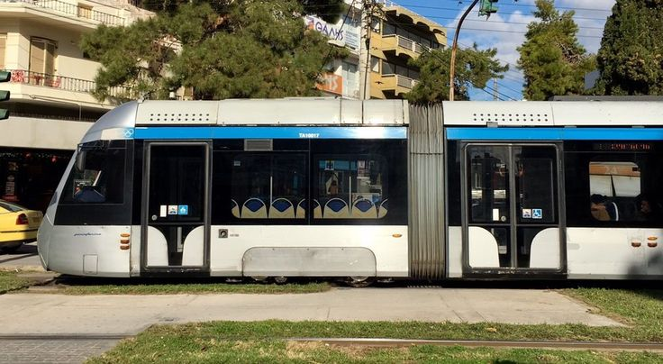 Taking the Tram from the Center of Athens to the Beach
