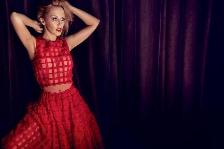 Kylie Minogue on Deluxe Magazine  #KMOT