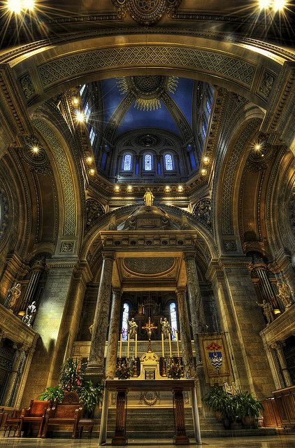 St Mary's Basilica, Minneapolis, Minnesota