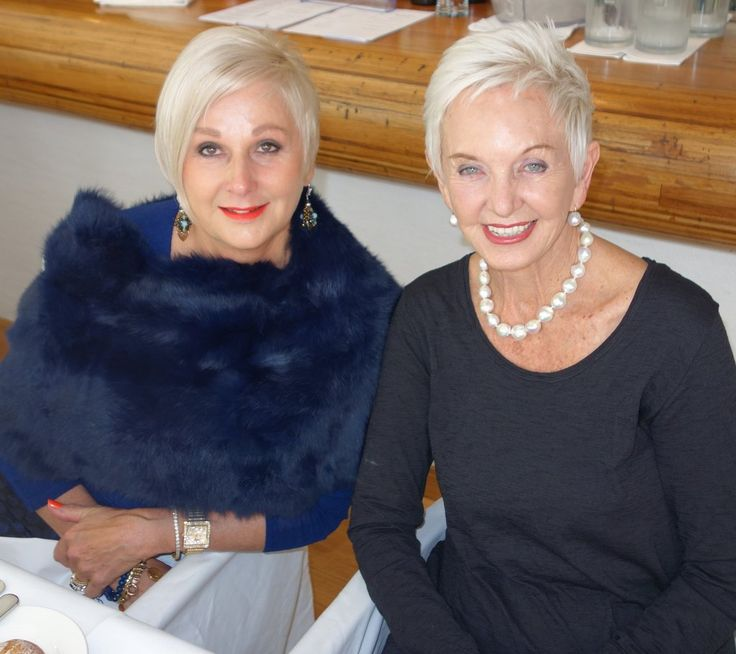 Very stylish ladies at the launch of Unlock Your Style at Berardo's Noosa