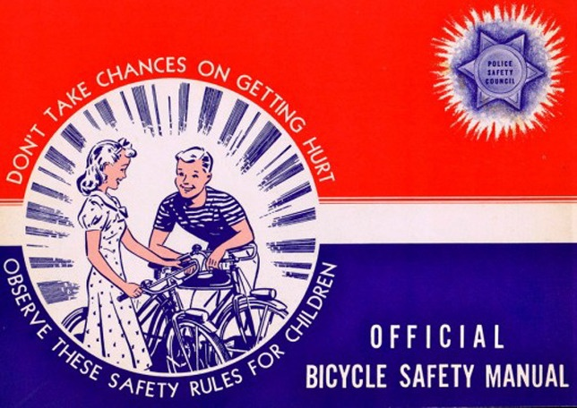 Official bicycle safety manual kleur Pinterest Funny, Of - safety manual