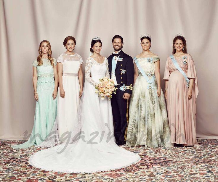 principe-carlos-felipe-y-sofia-hellqivts-madelaine y victoria de suecia y hermanas de sofia
