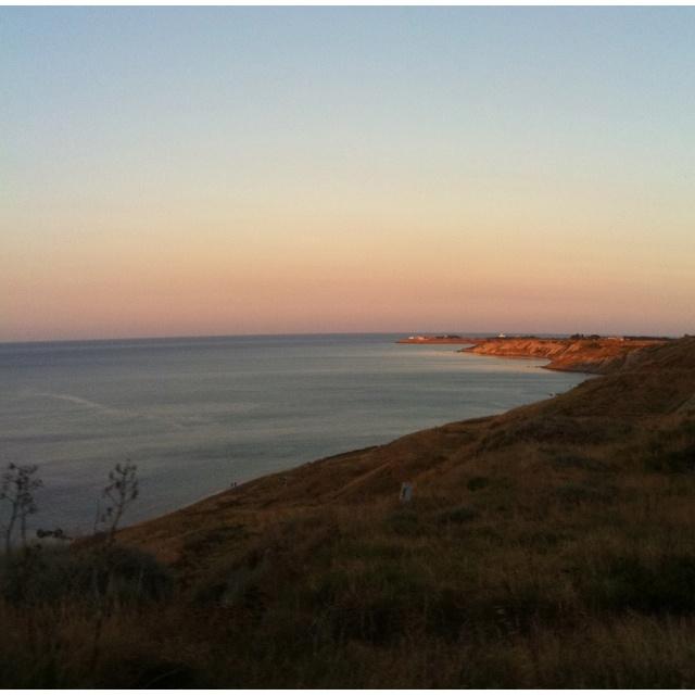 Sunset Calabria
