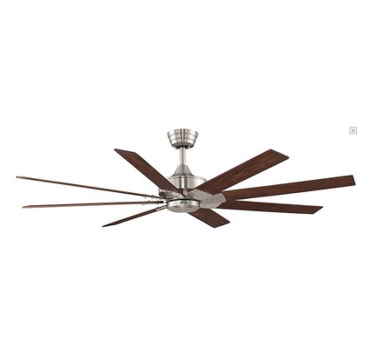 "63"" large ceiling fan for high ceilings."