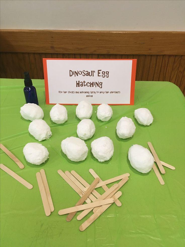 Dinosaur party-dinosaur eggs, party game