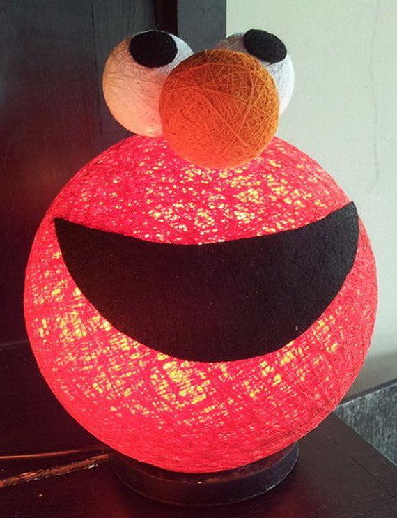 Elmo Bedroom Decorating Ideas: Sesame Street Nursery Inspiration