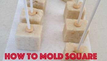 How to Make Square Cake Pops   Tutorial