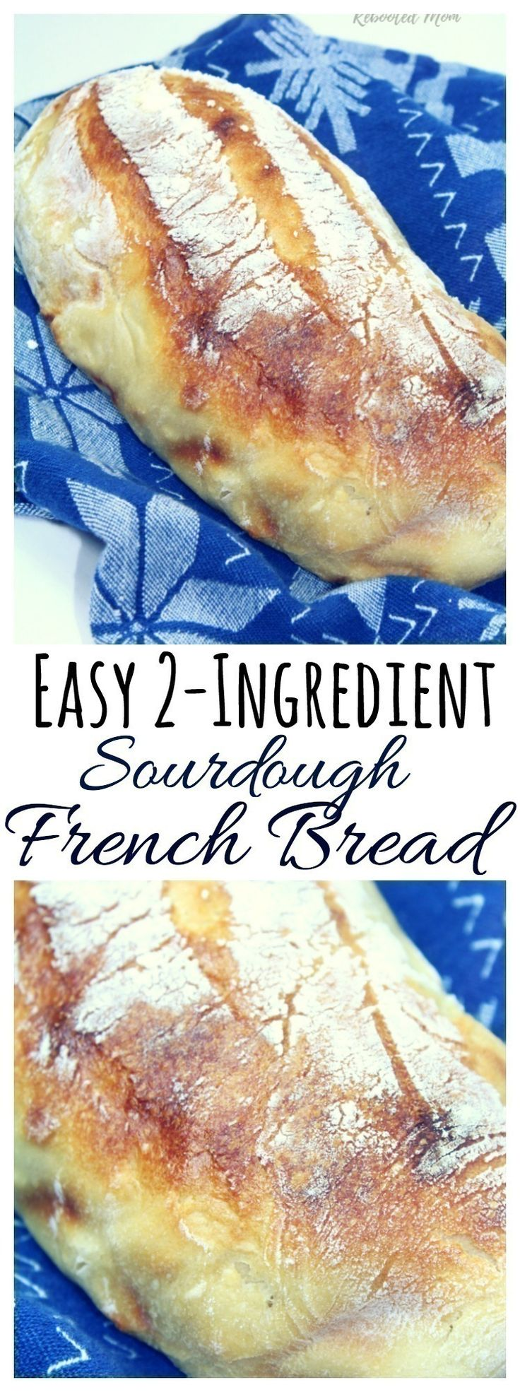 A beautiful loaf of gluten-free sourdough french bread ...