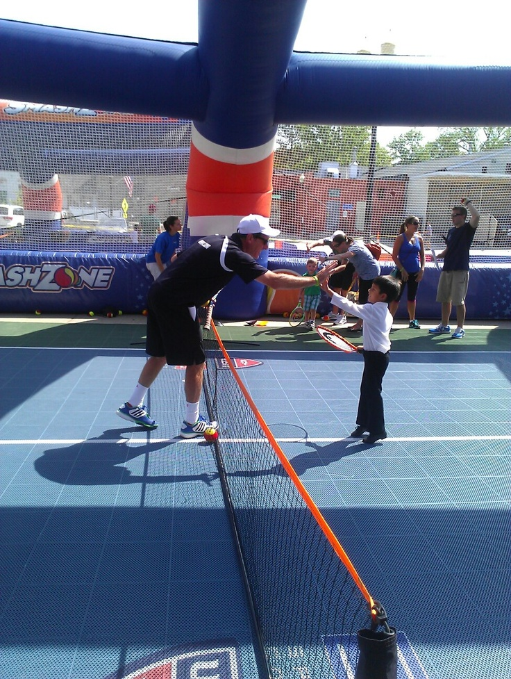 SmashZone with Kevin, our 10 & under tennis pro at Western Reserve Racquet & Fitness Club