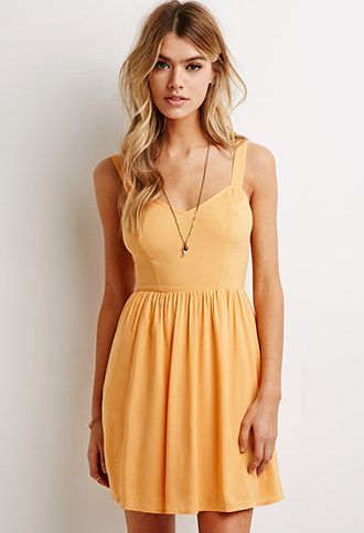 Smocked-Back Fit & Flare Dress.  I'd really like this dress in all 3 colors please :)
