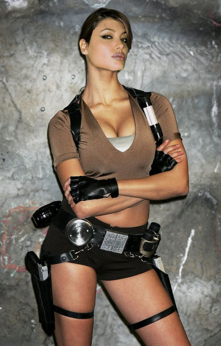 Not despond! Karima adebibe tomb raider