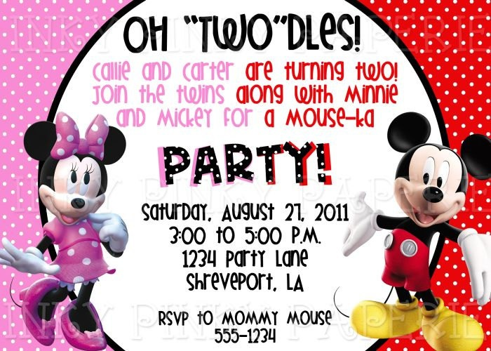 14 best Mickey Mouse Party images on Pinterest Mickey mouse - mickey mouse invitation template