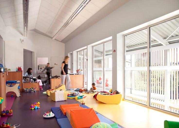 SOA: Les Coccinelles Nursery School, Paris. Indoors Filled With Natural  Light Amazing Design