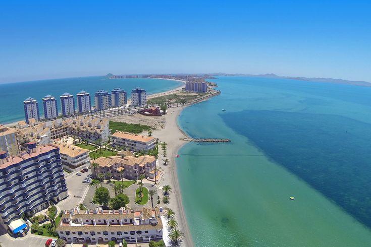 La Manga del mar Menor. Murcia. Spain