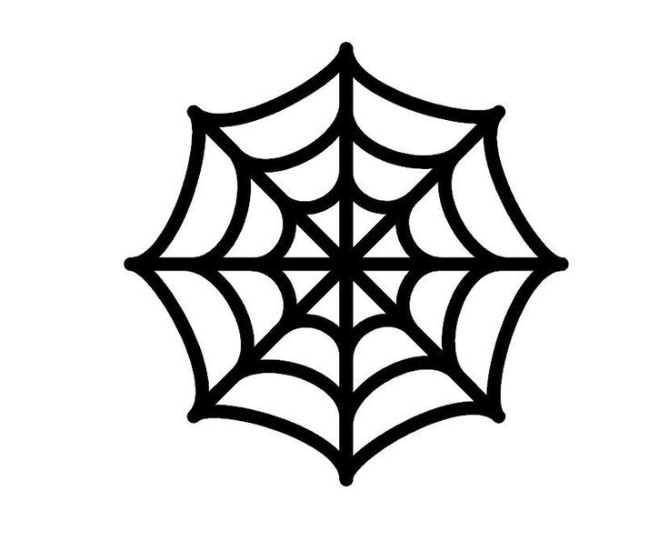 Nifty image regarding spider web template printable