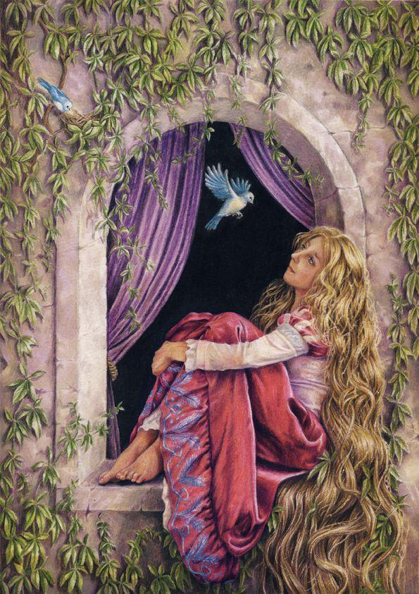 Rapunzel by MyDoodle.deviantart.com on @deviantART