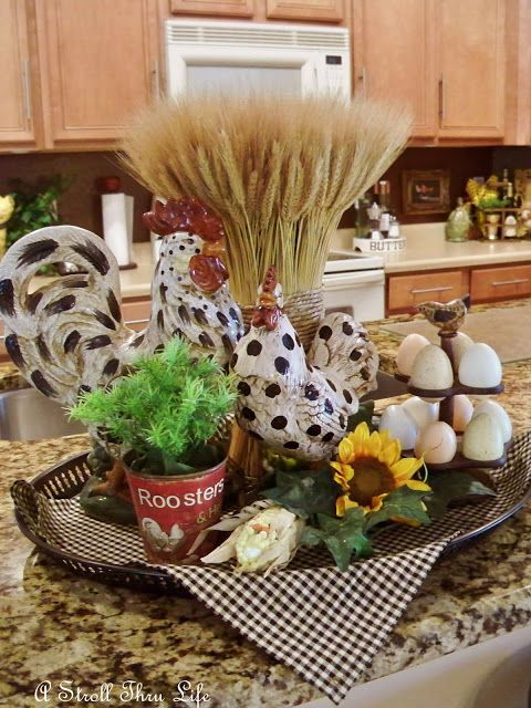 The 25 best rooster kitchen decor ideas on pinterest for Rooster kitchen ideas