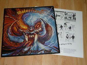 MOTORHEAD - Another Perfect Day - 1st PRESS A1/B1 VINYL LP  INSERT - BRONZE